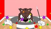 New Kids Surprise Eggs Halloween Magical Hats Count Dracula Werewolf Frankenstein Mummy #Animation