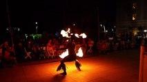 Maohi Nui Fire Knife Dance Waikiki Sheraton Moana Chief Tui
