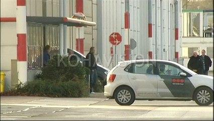 Pamje nga arrestimi Haradinaj në aeroport