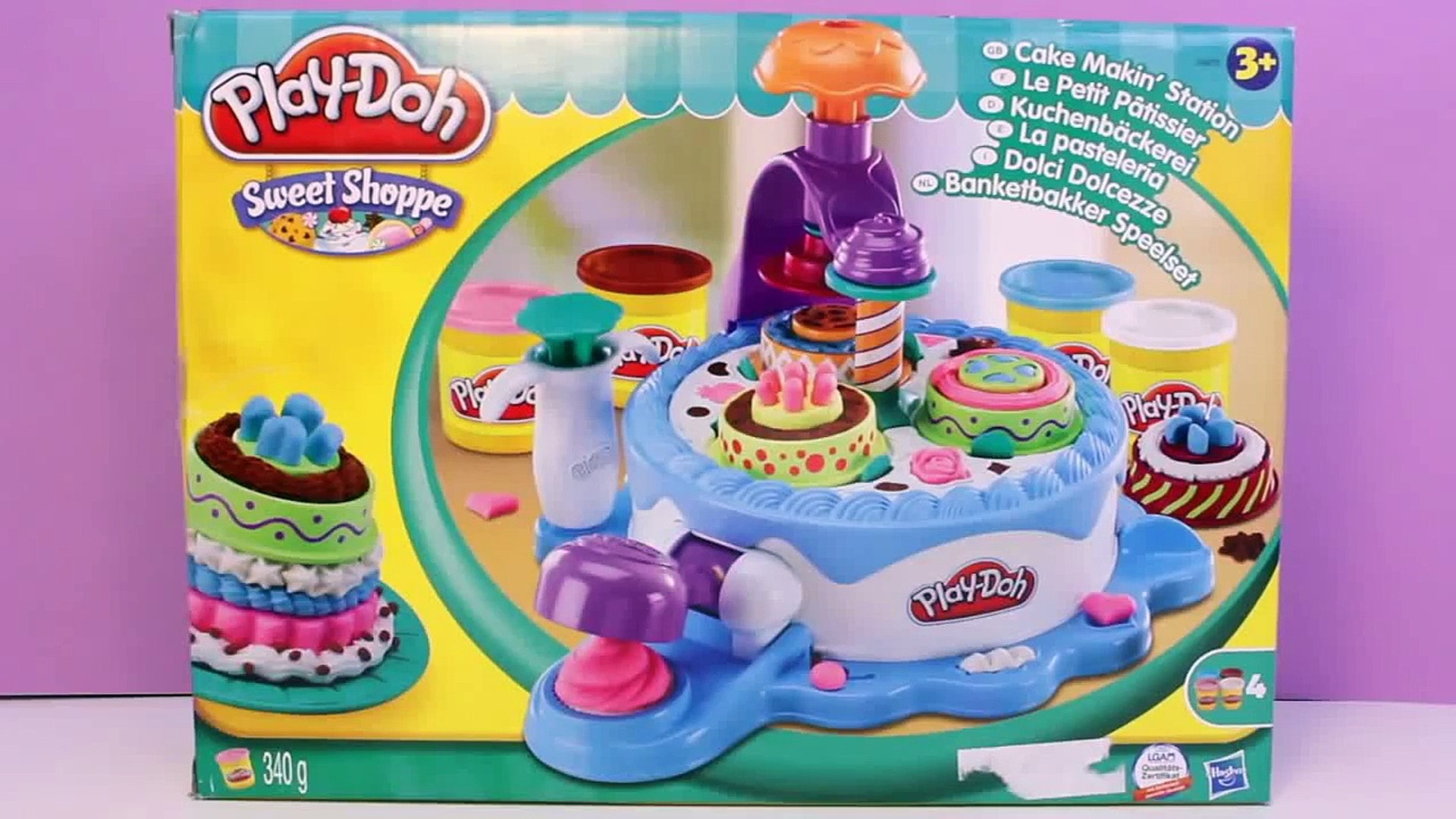 Terrific Play Doh Birthday Cake Play Doh Cake Makin Station Bakery Playset Personalised Birthday Cards Veneteletsinfo