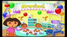 Dora The Explorer | Dora Babysitting & Farm Helping Dora Games for Kids