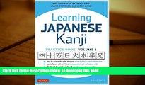PDF [FREE] DOWNLOAD Learning Japanese Kanji Practice Book