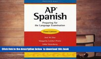 Audiobook  AP Spanish: Preparing for the Language Examination, 3rd Edition, Student Edition