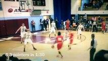 En plein match, un lycéen inscrit six paniers à 3-points en 90 secondes !