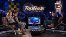 Top Gear France saison 3 Enora Malagré raconte avoir fait l'amour dans sa voiture