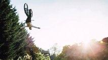 Matt Jones Throws Huge Tricks in Slopestyle MTB Training Session   Sound of Speed