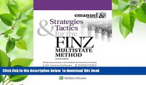 PDF  Strategies   Tactics for the FINZ Multistate Method (Emmanuel Bar Review) (Emanuel Bar