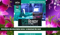 Read Online  Auditing   Attestation (Bisk CPA Ready Comprehensive Exam Review) Nathan M. Bisk Full
