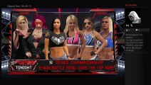 WWE 17 six diva battle royal to crown a new divas champion for my new show TOTAL DIVAS (295)