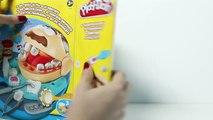 Play Doh Doctor Drill N Fill Playset Dentist El Dentista Bromista Brincalhão Play Dough Toy Videos