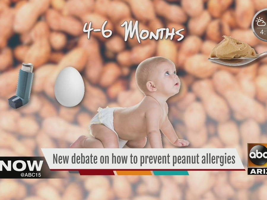 New debate on how to prevent peanut allergies with kids