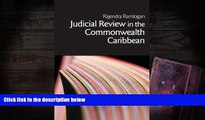 BEST PDF  Judicial Review in the Commonwealth Caribbean (Commonwealth Caribbean Law) FOR IPAD