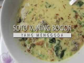 SOTO KUNING BOGOR MENGGODA