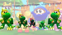 Animal Mechanicals - Finger Family Song Daddy Finger Nursery Rhymes Sasquatch rex - kids songs