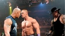 WWE THE ROCK & JOHN CENA VS AWOSEM TRUTH FULL MATCH HD - video