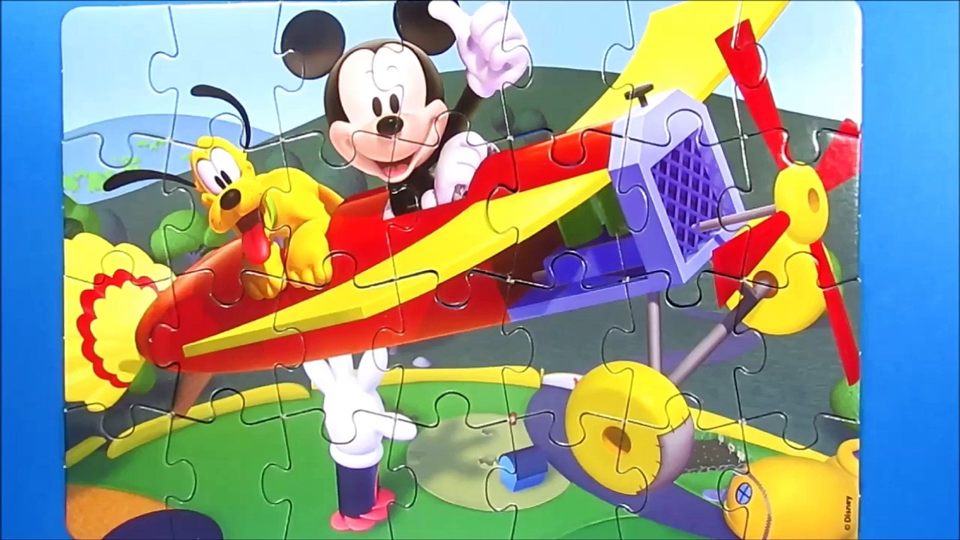 Disney Puzzle Games for kids rompecabezas learning activities quebra cabeça play kids clementoni