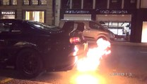 Crazy Toyota Supra Terrorises The Streets of London!!!