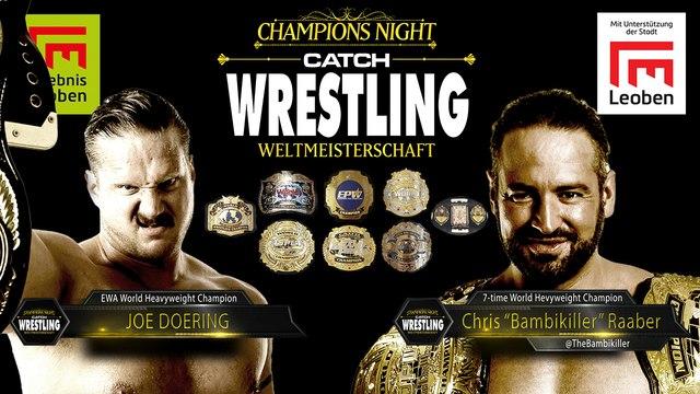 """Catch Wrestling: Chris """"Bambikiller"""" Raaber vs. Joe Doering"""