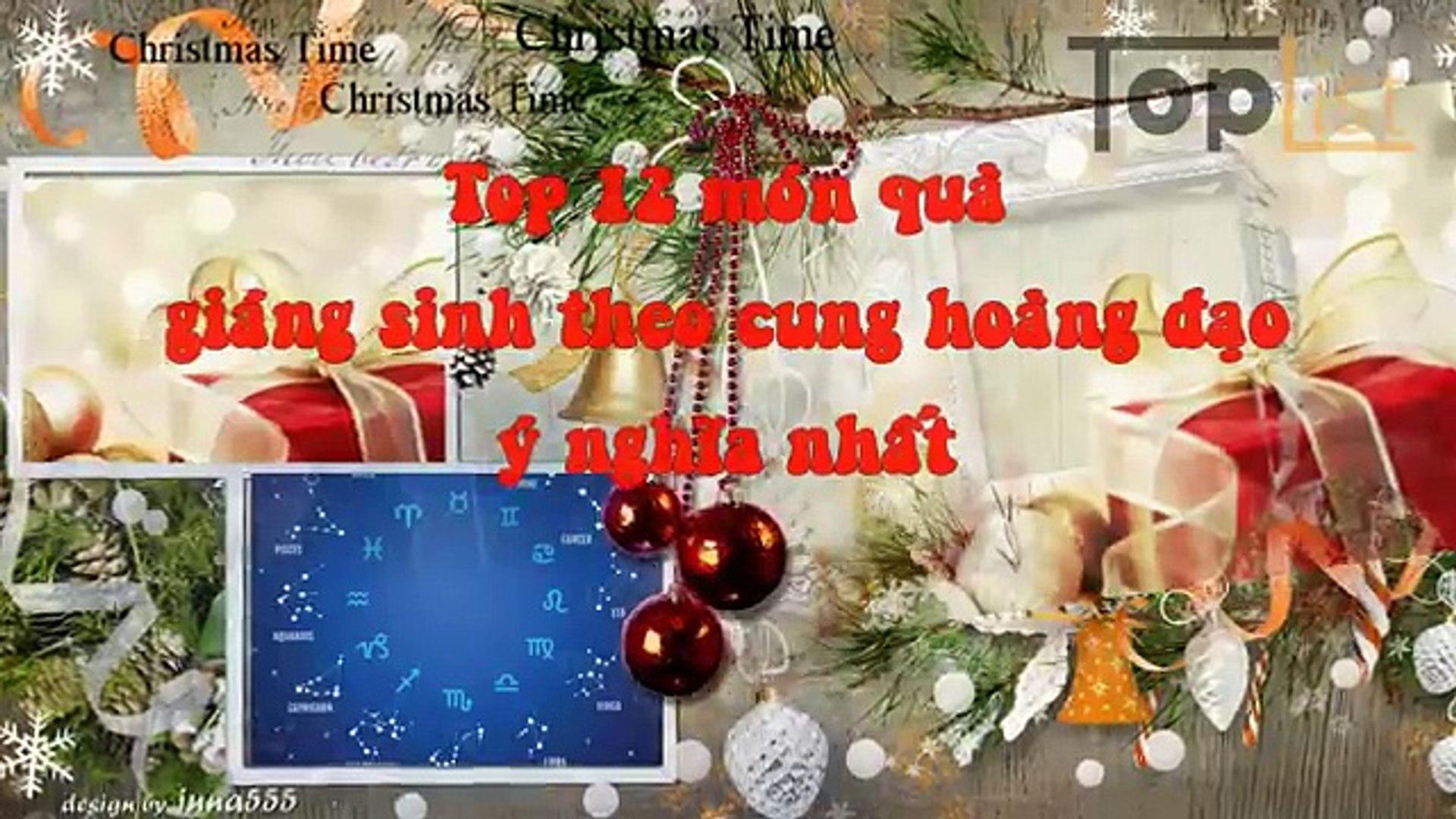 Top 12 món quà Giáng sinh Noel theo cung hoàng đạo ý nghĩa nhất