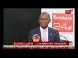 Business 24 / Business Matin A la Une Les marchés financiers sur la Bourse Regionale