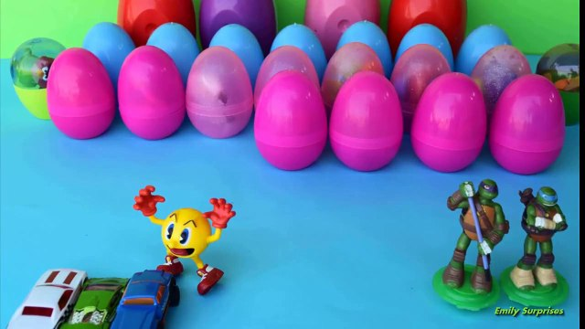 stop motion Masha Medved Cars 2 Surprise Eggs Play Doh Mickey Mouse Peppa Pig SpongeBob HELLO KITTY