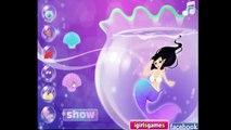 Mermaid games - Mermaid in Fish Tank - Best videogames for kids