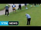 [Golf] James Hahn wins PGA Tour's Wells Fargo Championship / YTN
