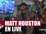 """Matt Houston """"Dans la peau d'un dealer, Cendrillon du Ghetto, RnB 2 Rue"""" en live dans Planète Rap"""