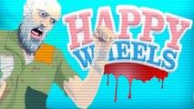 Happy Wheels Funny Moments _ EPIC SANTA CLAUS FAILS (Christmas Levels)-nIyhKrnxP6U