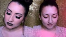 GRWM | Smoky Cut Crease & Dark Brown Lips