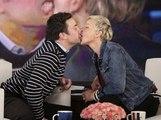 Public Buzz : Jimmy Fallon et Ellen DeGeneres s'embrassent sur la bouche !