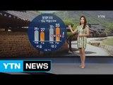 [날씨] 오늘도 불볕더위...더위 속 미세먼지·자외선↑ / YTN (Yes! Top News)