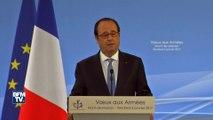 François Hollande annonce la création d'un monument en hommage aux soldats morts à l'étranger