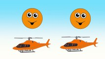 Counting Helicopters | Learn Colors & Numbers for Kids | Animated Surprise Eggs filled with Colours
