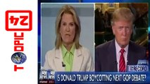 """Greta Van Susteren Hit By Left And Right For Jumping - She """"thinks"""" She Can Book Donald Trump"""