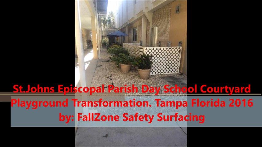 FallZone Playground Safety Surfacing Tampa Florida www.fallzonesafetysurfacing.com 1-888-808-1587