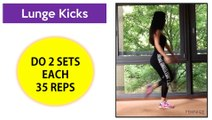  4 INSANE Leg and Butt Workouts   Exercises to Lift and Tone Your Butt and Thighs