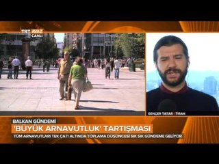 Büyük Arnavutluk Tartışmalarını Ele Aldık - Balkan Gündemi - TRT Avaz