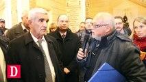 Rencontre explosive entre les grévistes de l'Ormeau et le maire de Tarbes