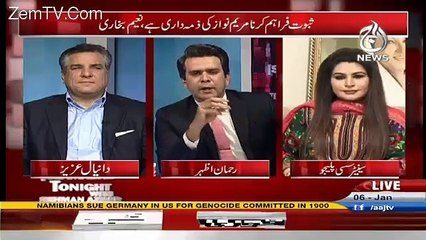Islamabad Tonight With Rehman Azhar – 6th January 2017