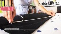 Une cape sans couture + sport entre copines! avec Pauline, Stéphane & Arnaud | Flair #34 sur ELLE Girl