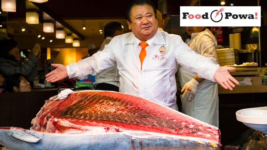 Un  thon rouge vendu 605,000€ au Japon !