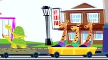 Zoo Train_ 3D Learn Numbers iPad App Demo_ Educational Videos for kids. iPad, iPhone apps demos.