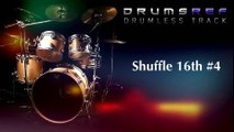 Instrumental Drumless Track - Shuffle 16th Beat Part 4