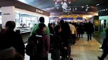 Grève à l'aéroport de St Exupéry