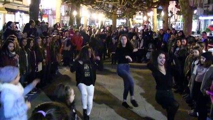 Flashmob Las Zapatillas Rojas