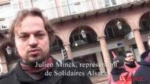 Grève dans la fonction publique à Mulhouse : les raisons de la colère