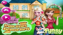 Frozen Sisters Barbecue Party - Frozen Game For Girls