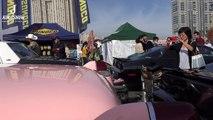 (4K)CADILLAC FLEETWOOD 60 SPECIAL キャデラック フリートウッド60スペシャル- お台場旧車天国2016-IvY4530KebY