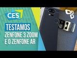 Realidade aumentada e 12x de zoom: As novidades da Asus [CES 2017] - TecMundo